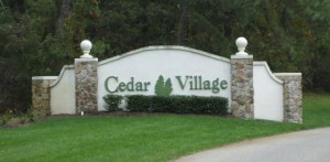 cedar village brick over 55 active adult