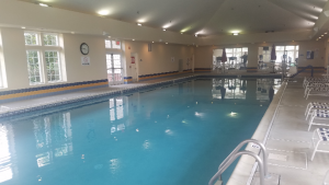 indoor pool River Pointe Manchester
