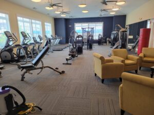 Seabreeze Lacey over 55 homes for sale gym